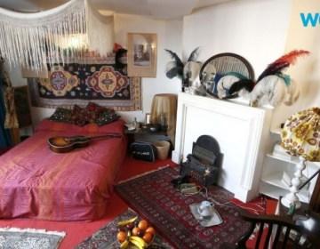 Het appartement van Jimi Hendrix (Still YouTube)