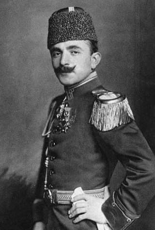 Enver Pasja in 1911