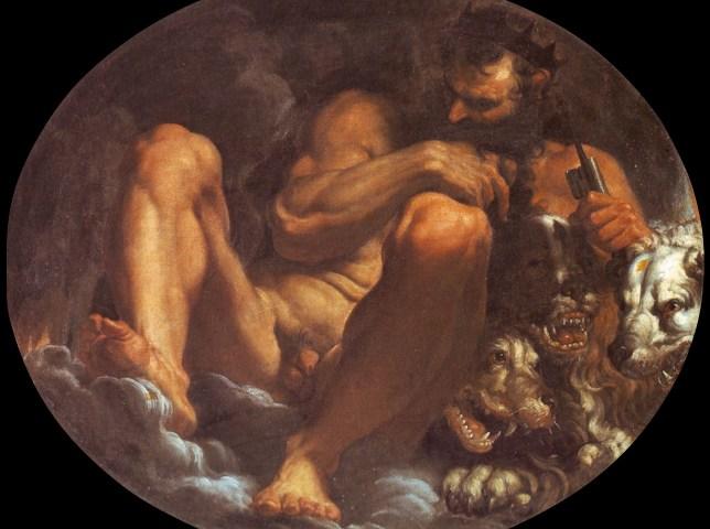 Hades (Puto) volgens Agostino Carracci - cc