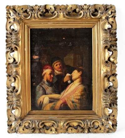 Het schilderij zoals het vorig jaar werd aangeboden op de veiling