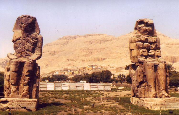 Kolossen van Memnon - cc