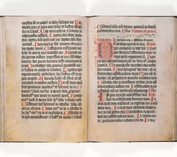 Psalmenboek uit 1459