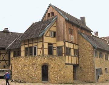 Bijzonder vakwerkhuis in St. Martensvoeren, België. Bron: www.specialvillas.nl