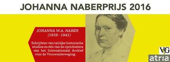Johanna Naberprijs 2016
