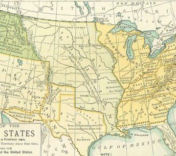 Amerika in 1891
