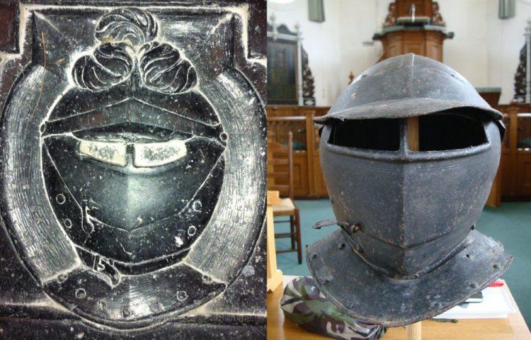 De helm van Schelte van Aysma (Foto: NMM)