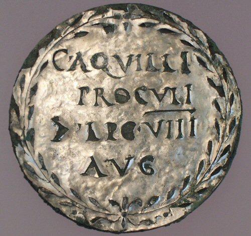 Medaillon van Aquilius (Valkhofmuseum, Nijmegen)