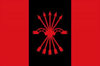 Vlag van de Falangisten