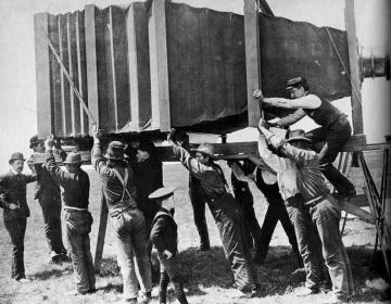 De grootste camera ter wereld (1900)