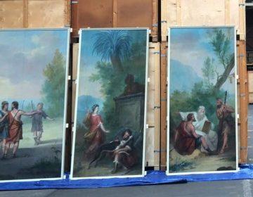 Een aantal doeken uit de reeks (Dordrechts Museum)