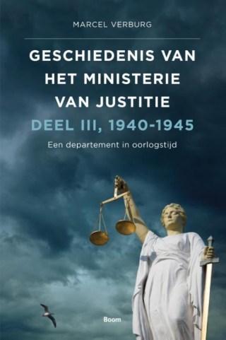 Geschiedenis van het Ministerie van Justitie 1940-1945