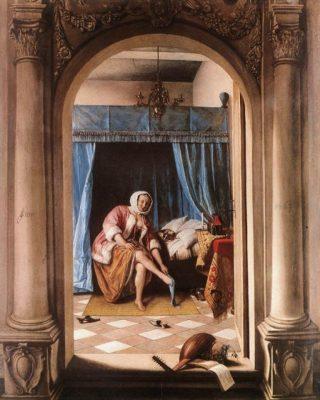 Het ochtendtoilet - Jan Steen