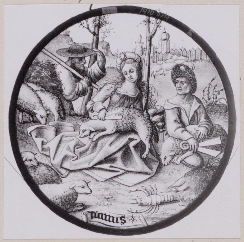Junius, glasruit, 1510. Amsterdam Museum KA 1410