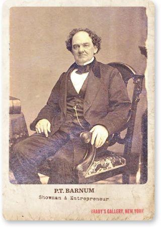 Phineas Taylor Barnum (1810-1891)