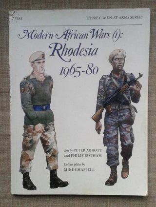 Poster bush war Rhodesia, 1965-1980