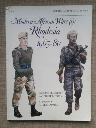 Poster bush war Rhodesia, 1965-1980