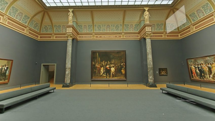 Rijksmuseum Google Street View