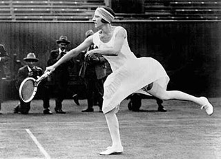 Suzanne Lenglen op Wimbledon, 1925