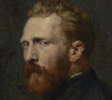 Vincent van Gogh volgens John Peter Russell, 1886
