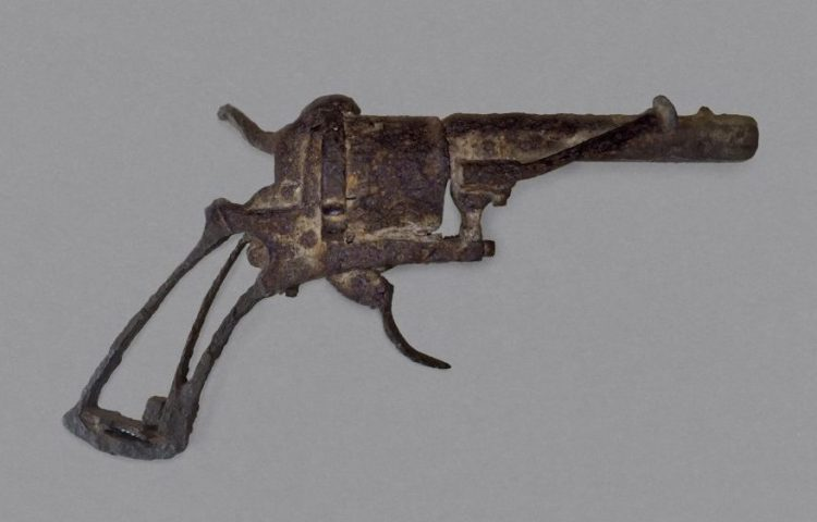 Revolver, type 'Lefaucheux à broche', 7mm, 1865-1873, particuliere collectie