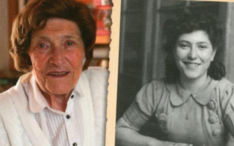 Bloeme Evers-Emden - detail van de cover van haar autobiografie