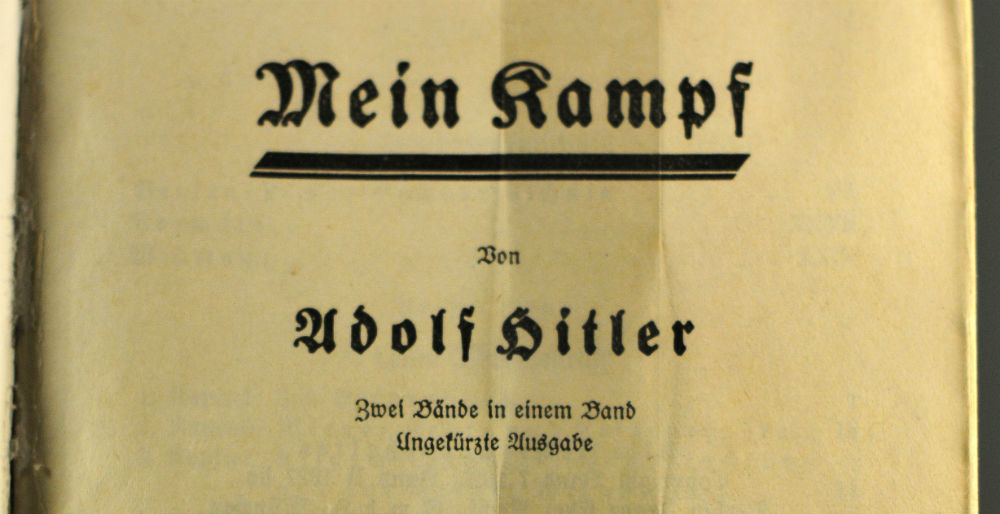 Citaten Uit Mein Kampf : Mein kampf het verboden boek van adolf hitler
