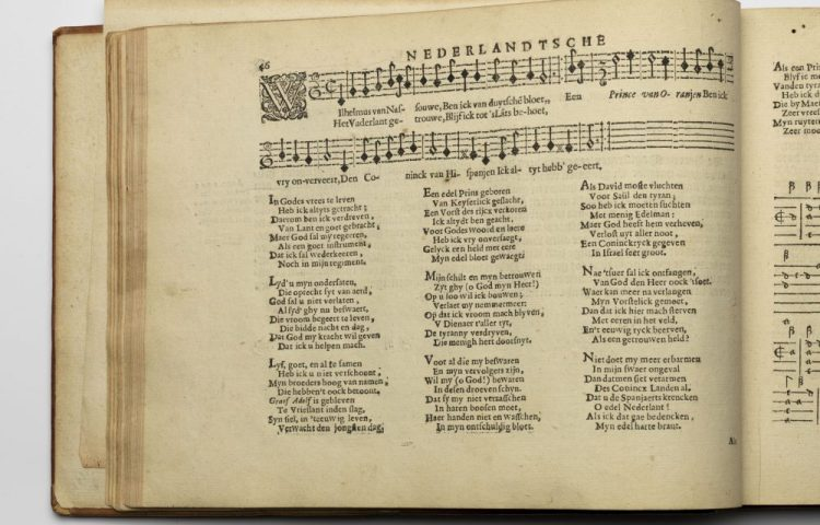 Paleis Het Loo verwerft liedboek uit 1626 met Wilhelmus (Paleis Het Loo - T. Haartsen)