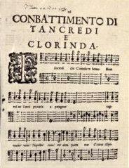Combattimento di Tancredi e Clorinda