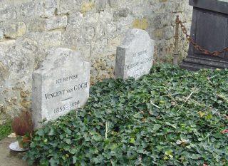 Graven van Vincent van Gogh en zijn broer Theo