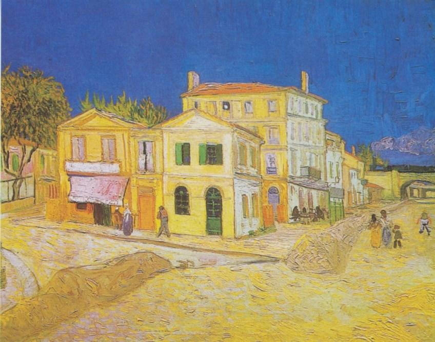 Het gele huis, 1888