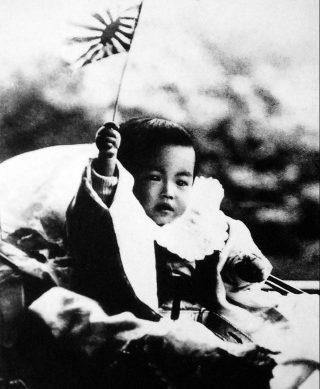 Hirohito als baby