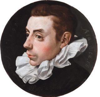 Hugo de Groot op 16-jarige leeftijd (Jan Antonisz. van Ravesteyn, 1599)