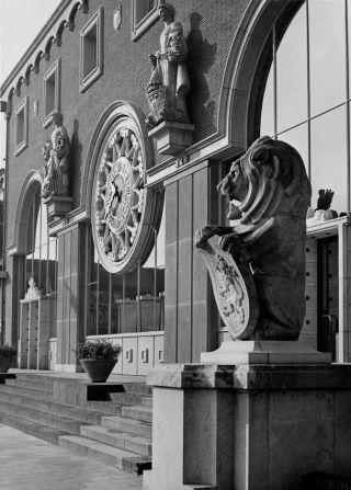 Ingang station Den Bosch, 1952