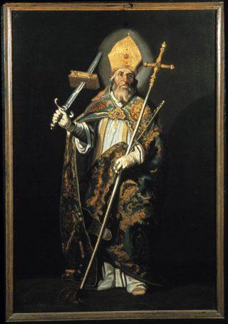 Bonifatius volgens Abraham Bloemaert (Catharijneconvent)