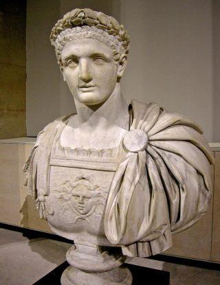 Buste van keizer Domitianus - Louvre