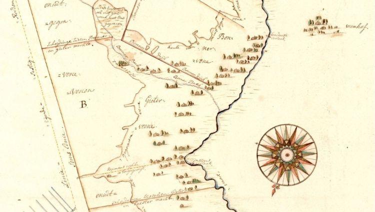 Drents Archief - Kaart van de Semslinie