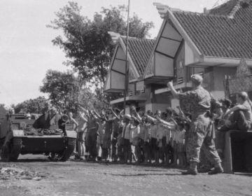 Foto gemaakt tijdens de koloniale oorlog (verzetsmuseum.org)
