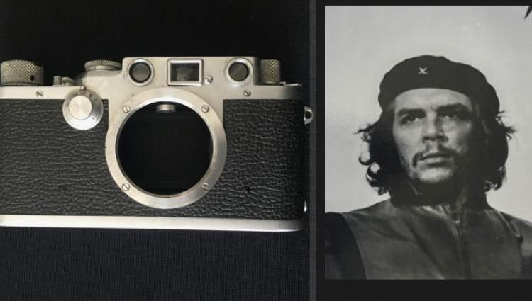 Fototoestel van beroemde Che Guevara-foto te koop (Catawiki)