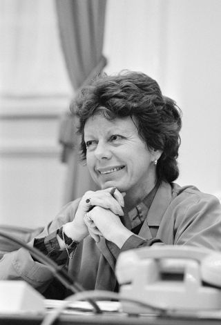 Neelie Kroes, 1984. Foto: Nationaal Archief