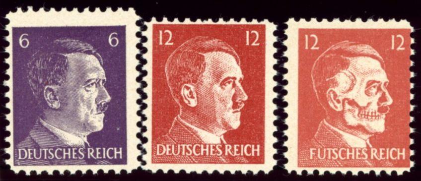 Nep-post voor nazi-Duitsland