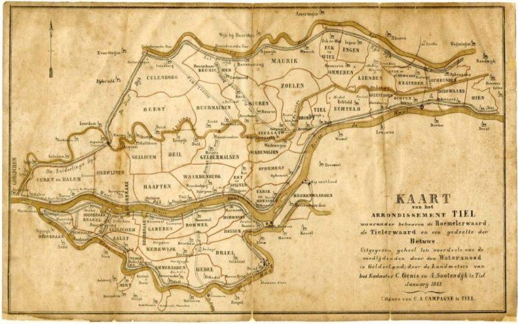 Regionaal Archief Rivierenland - Water kent geen grenzen