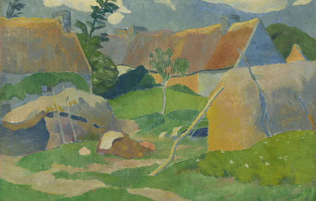 Paul Sérusier (1864-1927). Boerderij in Bretagne (ca. 1890)