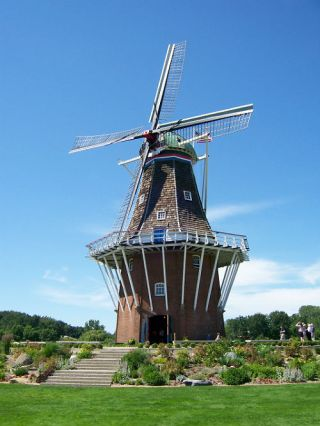 Windmolen De Zwaan in Holland, Michigan. Foto: CC