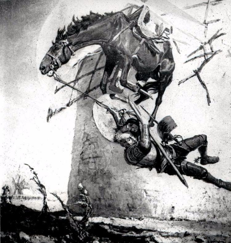 Don Quichot © Henk Boudewijns