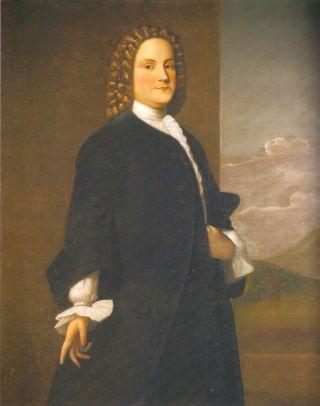 Eerste portret van de beroemde Amerikaan - Robert Feke (1748)
