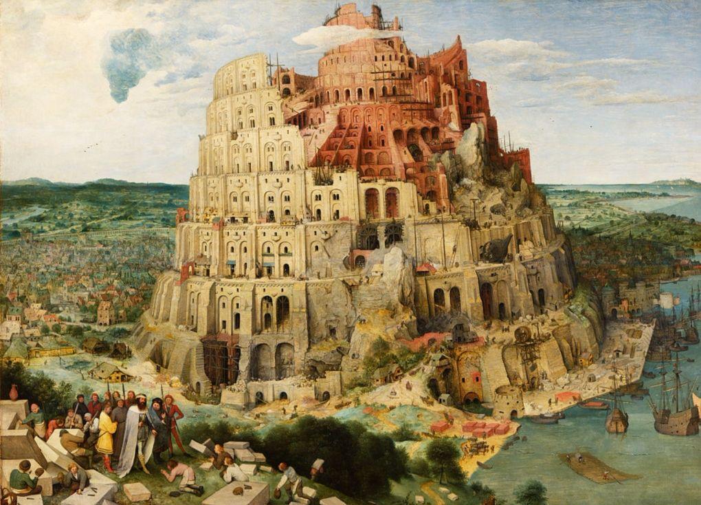 Pieter Brueghel de Oude, de toren van Babel
