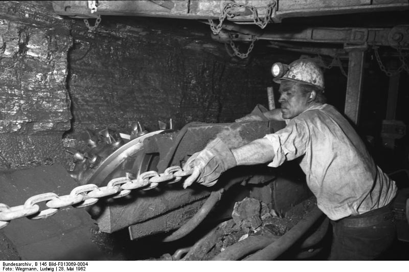 Een Italiaanse gastarbeider in Duitsland. Bron: Bundesarchiv