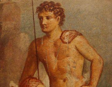 Argus op een fresco in Pompeii - cc