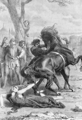 De foltering van Brunhilde