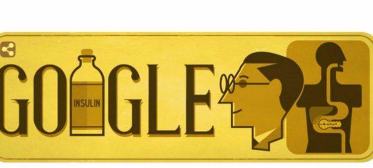 Frederick Banting geëerd door Google